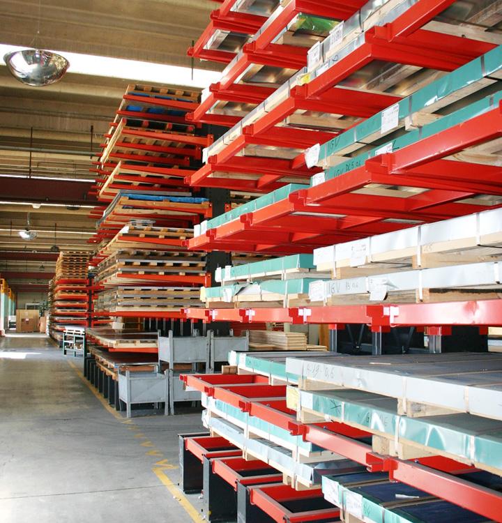 Sheet steel stock