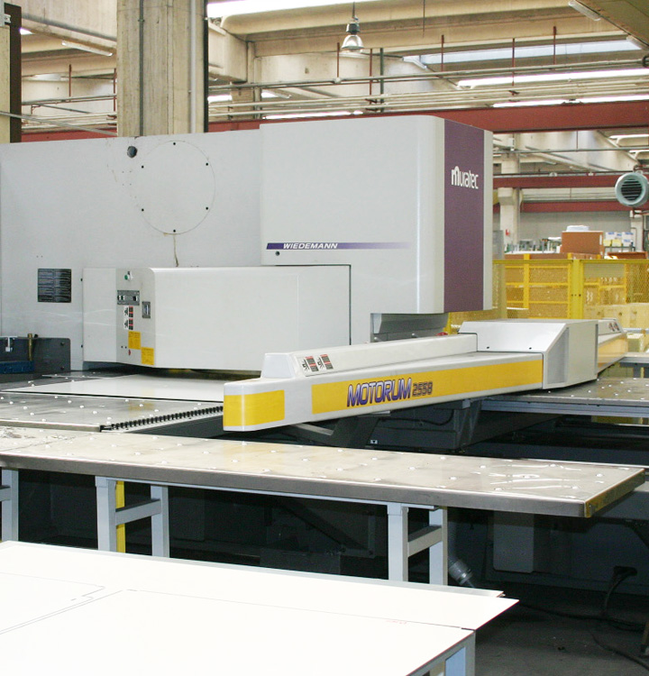 Shet steel plate processing
