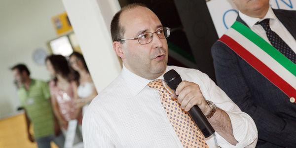 Eng. Matteo Volpe, Gerente Geral IGV Group, durante o discurso de abertura do Open Day IGV