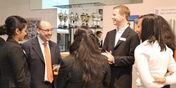 Eng. Matteo Volpe com a equipe da Universidade de Michigan, visitando para um estudo sobre a empresa IGV