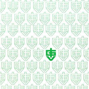O primeiro logotipo da IGV